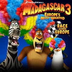 Madagascar 3: Race across Europe Game Online kiz10