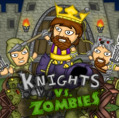 Knights vs Zombies Game Online kiz10