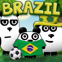 3 Pandas in Brazil Game Online kiz10