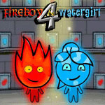 Watergirl and fireboy 4 Game Online kiz10