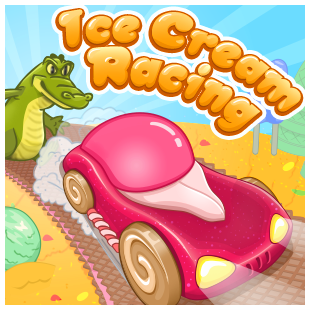 Ice Cream Racing Game Online kiz10