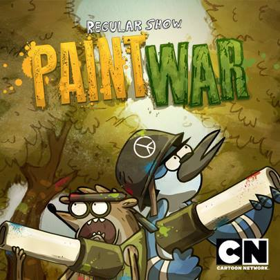 Regular Show Paint War Game Online kiz10
