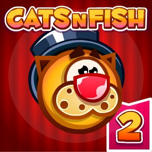 Cats n Fish 2 Game Online kiz10