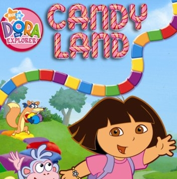 Dora Candy Land Game Online kiz10