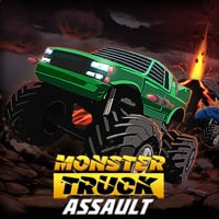 Monster Truck Assault Game Online kiz10
