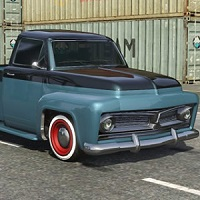 Ford F 100 Puzzle Game Online kiz10