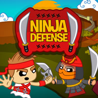 Ninja Defense Game Online kiz10