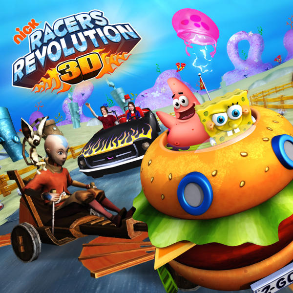 Nick Racers Revolution 3D Game Online kiz10