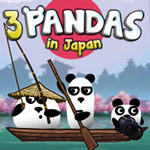 3 Pandas in Japan Game Online kiz10