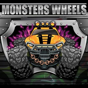 Monsters wheels Game Online kiz10