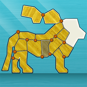 Shape Fold Animals Game Online kiz10