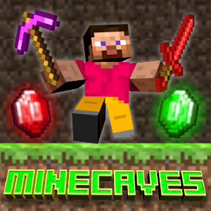 MineCaves Game Online kiz10
