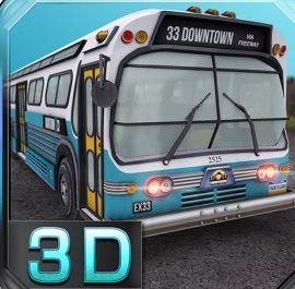 American Bus 3D Parking Game Online kiz10