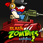Slash Zombies Rampage 2 Game Online kiz10