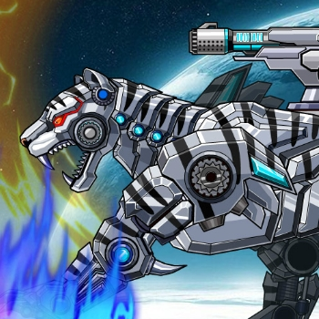 Robot Snow Tiger Game Online kiz10