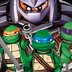 Lego Teenage Mutant Ninja Turtles: Shell Shocked Game Online kiz10