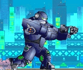 Robot Max Hero Game Online kiz10