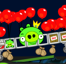 Bad Piggies HD 6.0 Game Online kiz10