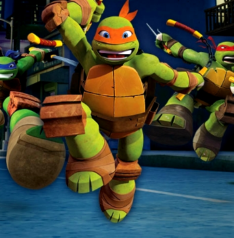 Teenage Mutant Ninja Turtles: Skewer in the Sewer Game Online kiz10
