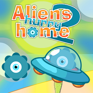 Aliens Hurry Home 2 Game Online kiz10