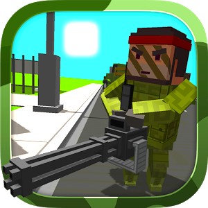 Blocky Army Game Online kiz10