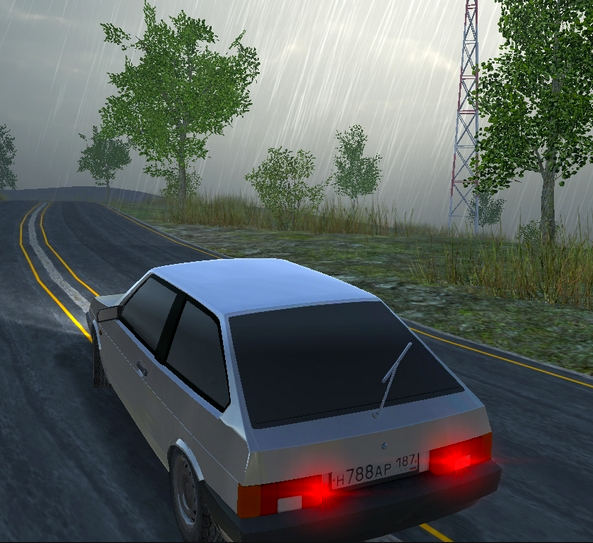 Russian Car Driver HD Game Online kiz10