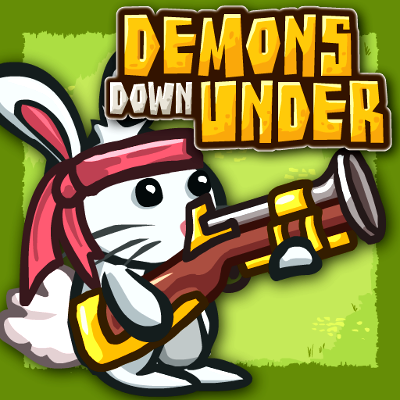 Demons Down Under Game Online kiz10