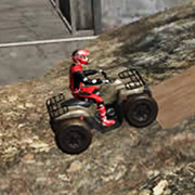 ATV Trials Beach Game Online kiz10