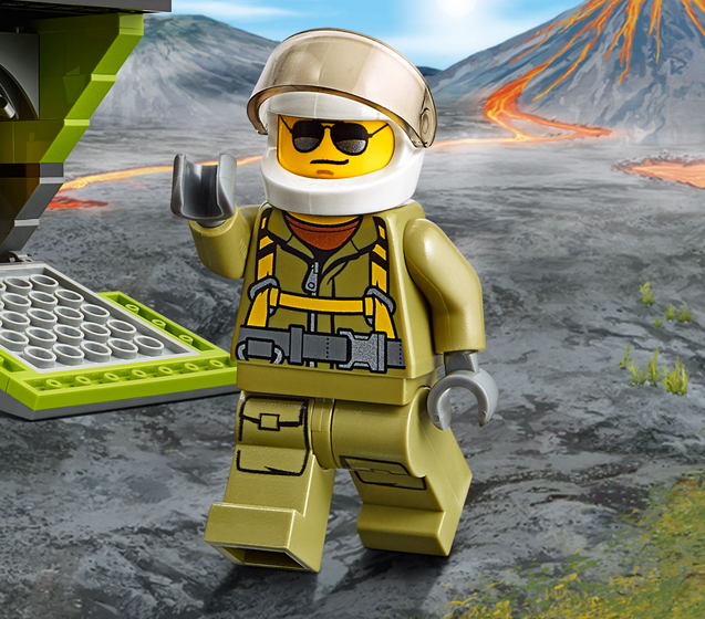 Lego City: Volcano Explorers Game Online kiz10