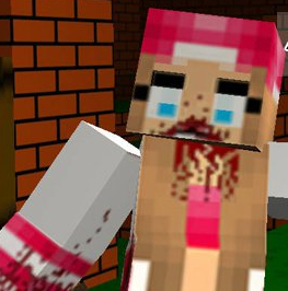 Blocky Combat Swat: Killing Zombie Game Online kiz10