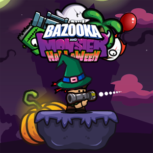 Bazooka and Monster 2 Halloween Game Online kiz10
