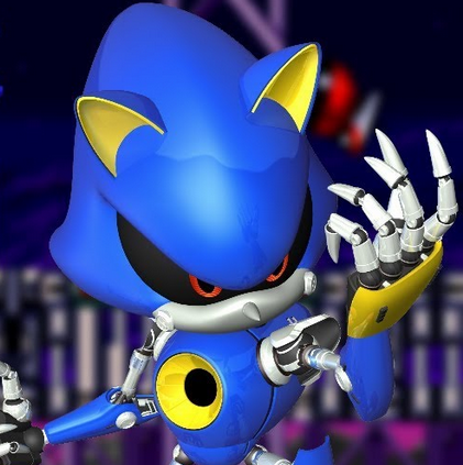 Metal Sonic Rebooted Game Online kiz10