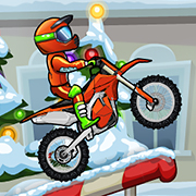 Moto X3M 4 Winter Game Online kiz10