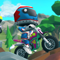 Moto Trial Racing Game Online kiz10