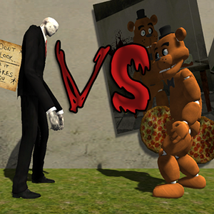 Slenderman vs Freddy test Game Online kiz10