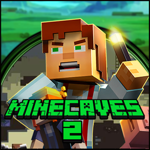 Minecaves 2 Game Online kiz10