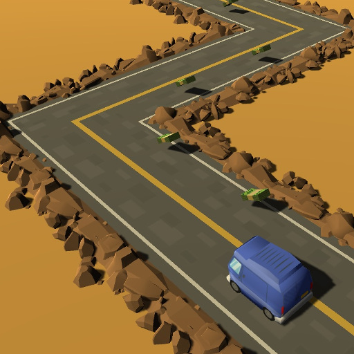 Zigzag Highway Game Online kiz10