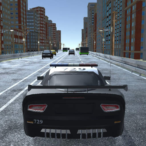Police Traffic Game Online kiz10