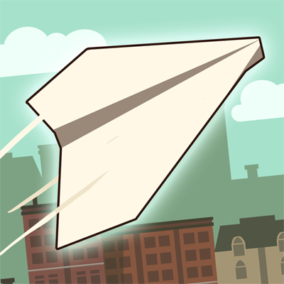 Paper Flight Game Online kiz10