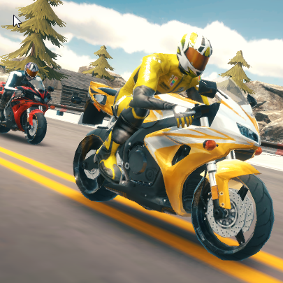 Highway Bike Simulator Game Online kiz10