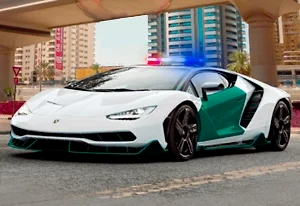 Dubai Police Parking 2 Game Online kiz10