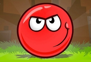 Red Bounce Ball 5 Game Online kiz10