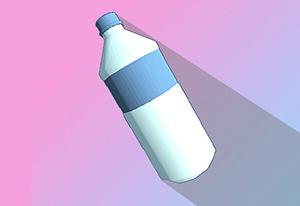 Bottle Flip 3D Game Online kiz10
