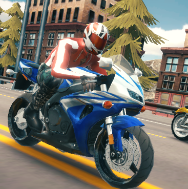 Highway Bike Racers Game Online kiz10