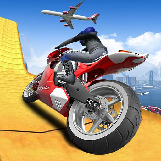 Impossible Moto Bike Track Stunts Game Online kiz10