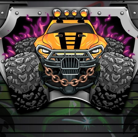 Monsters Wheels Special Game Online kiz10