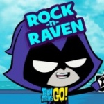 Rock-n-Raven - Teen Titans Go! Games