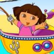 Dora Fishing Adventure Games Game Online kiz10