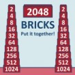 2048 Bricks Game Online kiz10