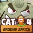 Cat Around Africa Game Online kiz10